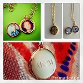 Or an engravable locket!