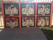Fourth grade Cityscape Artwork