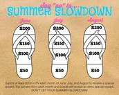 Say NO to Summer Slowdown!