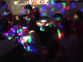 Dance party action