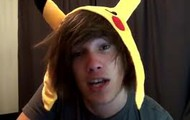 His Awesome Pikachu (Pokemon) Hat