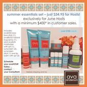 Host Special ~ Summer Essentials Set