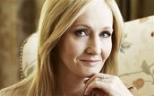 Someone that inspires me is... J.K. Rowling