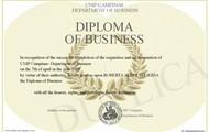 major in business