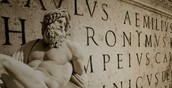 The Roman language *Latin*