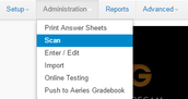 Step 6 – Scan your Assessment