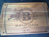Personalized Wood gifts