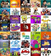 My favorite shows wre Spongebob Squarepants, That's So Raven, and Kim Possible.