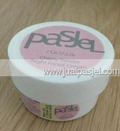 Pasjel Cherry Tender Night Facial Cream