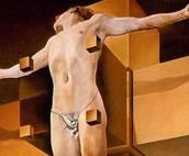 Crucifixion (Corpus Hypercubicus) 1954