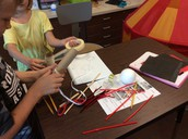 3rd grade students create new plants