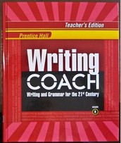 District Textbook Support & On-line Resources for Writing Coach texts