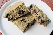 blueberry oatmeals squares