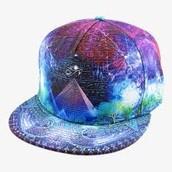 Galaxy Prism Hat