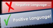 Negative language