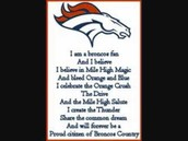 We are Broncos Fans