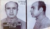 Capone at prison