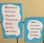 3rd Grade Acrostic Poems