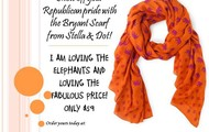 The Elepahnt Scarf, A trunk show favorite!