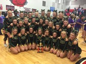 Gators of the Week:  Varsity and JV Competitive Cheer Win Big in Rock Hill