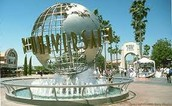 Universal studios in Hollywood