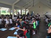 Grade 1s in the Pavilion