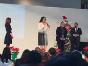 Speech at P. O. Y. event...
