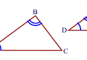 Similar Triangles By AA
