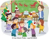 Christmas Parties, Friday, December 18th, 11:00  - 11:45 am