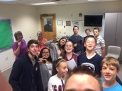 Monday Night 7th/8th Grade
