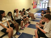 Wall Sits in the Hall!