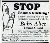 Stop Thumb Sucking!