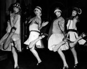 Flappers in the 20's