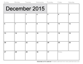 December Dates At A Glance