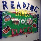 Travel to New Places Through Reading