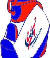Michael Jordan's Washington Wizards golf bag