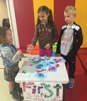 "1st Grade's ""pin sale"" is still going strong!"