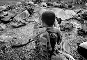 A boy for the Rwanda Genocide