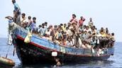 Uitleg vluchtelingen stroom.