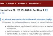 Academic Vocabulary Training