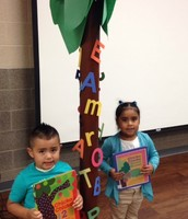 Chicka Chicka Boom Boom Tree at KPS