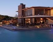 Mediterranean Lake House