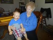Lady Penny & Grandson