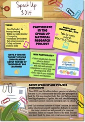 Speak Up!!   (due by all students and staff by 12/19)