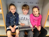 Olivia, Ben, and Abigail
