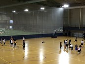 Large court space + another gym besides this one