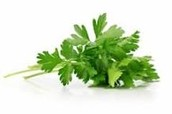 Parsley can be fresh or dried
