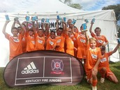 Kentucky Fire Juniors Invitational - 04 Boys Orange (Champions)