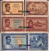 The colored money