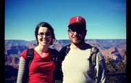 My husband Zach and I at the Grand Canyon